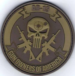 Punisher Patch – Coyote Brown