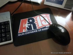 AR-15 GOA Logo MousePad – Black