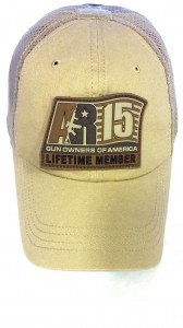 AR-15 GOA Lifetime Member Hat