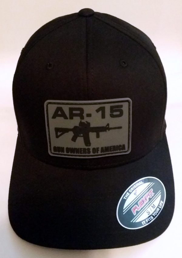 AR-15 GOA Punisher Hat with Gray Logo Patch
