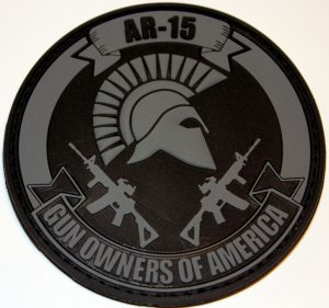 Spartan Patch – Black & Gray