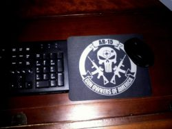 AR-15 GOA Punisher MousePad