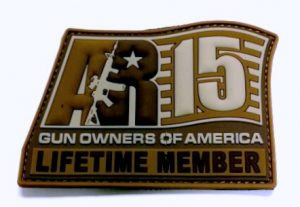 Lifetime Member Patch -Coyote-001