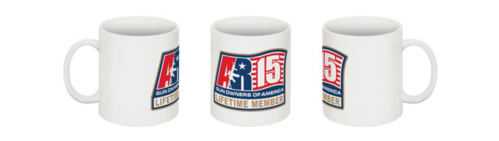 AR15GOA Lifetime Member Coffee Mug