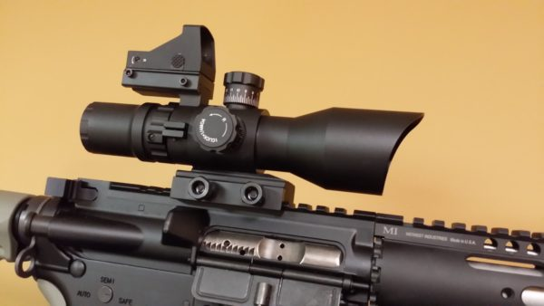 *NEW* REDCON-1 3-9 x 42 WITH ILLUMINATED RED, GREEN, BLUE P4 SNIPER RETICLE – V2 – BY TRINITY FORCE