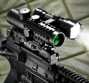 AC11544-CO-F1 – 4×30 IR Electro Sight with 210 Lumen Flashlight