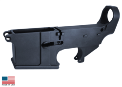 BILLET 80% AR-15 LOWER (ANODIZED)