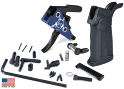 DMR DROP-IN LOWER PARTS KIT (BLK) – by KE Arms