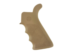 AR-15 Rubber Grip Beavertail with Finger Grooves (Flat Dark Earth) – by Hogue