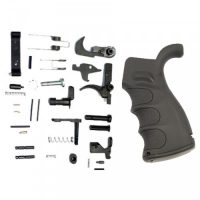 AR-15 COMPLETE LOWER PARTS KIT WITH ERGONOMIC POLYMER PISTOL GRIP – BY GUNTEC