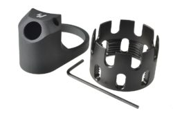 AR ENHANCED CASTLE NUT & EXTENDED END PLATE – BY STRIKE INDUSTRIES