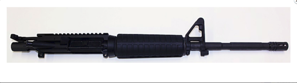 "16"" COMPLETE UPPER WITH FRONT SITE BASE – BY ANDERSON MFG."