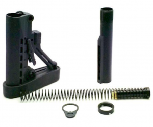 MIL-SPEC AR-15 STOCK KIT (BLACK) – BY TRINITY FORCE