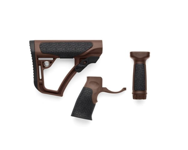BUTTSTOCK, PISTOL GRIP, & VERTICAL FOREGRIP COMBO - MIL SPEC +® - BY DANIEL DEFENSE