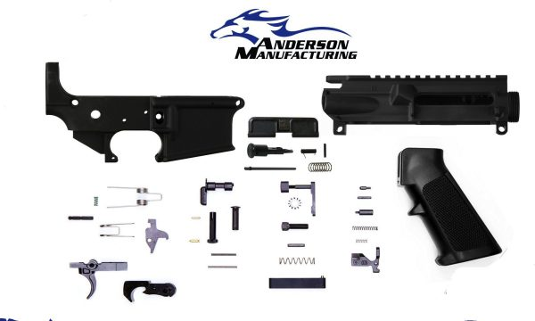 AM-15 KIT – UPPER & LOWER RECEIVER BUILD - BY ANDERSON MFG.