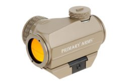 SLXZ ADVANCED ROTARY KNOB 20MM MICRO RED DOT SIGHT - FDE - BY PRIMARY ARMS