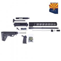 AR-15 5.56 CAL COMPLETE RIFLE KIT #3 (NO LOWER) - BY GUNTEC USA